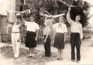 Кружок планеристов 1954