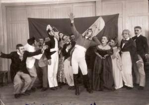 Немая сцена 1952(школьн.театр)